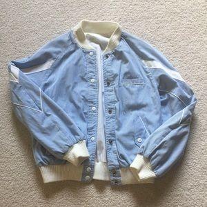 Jackets & Blazers - Vintage 80's Reversible Bomber Jacket